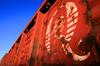 Quality (Jeff Carlson_82) Tags: ks kansas topeka atsf santafe gondola ga172 quality logo details detail q 73648 corrugated rust mineralred freightcar
