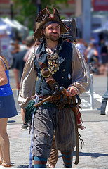 Pirate (swong95765) Tags: guy costume actor man outfit pirate hat gun