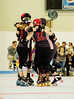 100 (Bawdy Czech) Tags: lcrd lava city roller dolls cinder kittens cherry bomb brawlers skate rollerskate bout bend oregon or february 2018 juniorderby juniors rollerderby lavacityrollerdolls