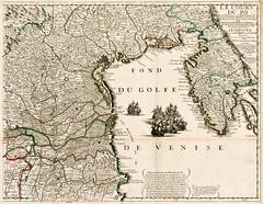 Jean-Baptiste Nolin - Le Cours Du Po (c.1700) (Pau NG) Tags: jeanbaptistenolin art maps