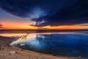 Ocean Sunrise (Dapixara) Tags: magic ocean sunrise nauset beach orleans massachusetts capecodphotos oceansunrises photooftheday reflections sand clouds dapixara photography capecod usa