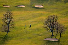 Golfers (Edinburgh Photography) Tags: landscape outdoors golf course golfers duddingston nikon d7000