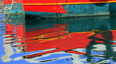 abstract reflection-Phantasia (maria xenou) Tags: abstract wasserspiegelung reflection colors farben wasser water fishingboat fischerboot greece griechenland soulphotography αντανακλαση χρωματα νερο θαλασσα στιγμεσ ελλασ ελλαδα μεσογειοσ αφηρημενη moments momente canoneos1100d maria xenou mittelmmer creative imagination καικι