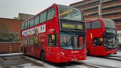 Arriva T256 (LJ61LKE) Waltham Cross 2nd March 2018 os (BristolRE2007) Tags: bus londonbus walthamcross arriva arrivalondonnorth enviro400 e400