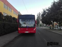 Panne RedBus Urbano (G4bo__) Tags: caio mondego marcopolo gran viale volvo b7rleo5oou b9salf transantiago subus express redbus quilicura zapadores ohiggins