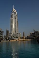 Skyscraper (Peter_069) Tags: dubai skyline emirates arabischeemirate arabia hochhaus turm wolkenkratzer skyscraper sky tower burjkhalifa night nacht burj khalifa dessert wüste sand sonne sun hitze palm palme burjalarab hotel luxus luxury