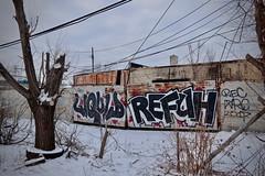 Liquid x Refuh (piecesofdetroit) Tags: detroitgraffiti detroit graffiti street art streetart graffitiart graffitiwriters motorcity piecesofdetroit germanfriday friday leicat killthematador thegermanfriday liquid refuh