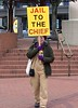 Hail Yes (swong95765) Tags: jail trump protest sign woman female