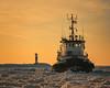 Candace Elise a mighty tug (karehav) Tags: holland lakemichigan frozen tugboat candaceelise