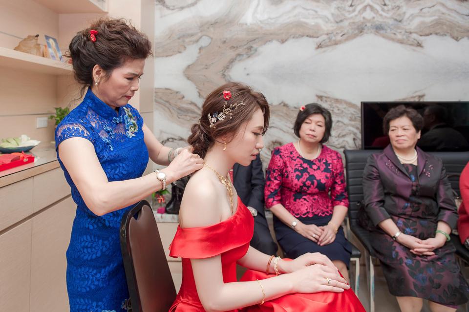 婚攝 高雄林皇宮 婚宴 時尚氣質新娘現身 S & R 031