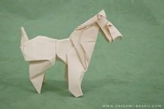 24/365 Fox Terrier by Roman Diaz (origami_artist_diego) Tags: origami origamichallenge 365days 365origamichallenge foxterrier dog