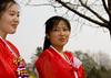 Two North Korean young women in choson-ot in a park, Pyongan Province, Pyongyang, North Korea (Eric Lafforgue) Tags: 6210 adults adultsonly asia asianethnicity beauty chosonot communism dictatorship dprk dress face females girl girls hanbok horizontal joseonoth joseonot koreanethnicity northkorea northkorean park portrait pyongyang smile traditionalclothing twopeople woman women womenonly pyonganprovince 北朝鮮 북한 朝鮮民主主義人民共和国 조선 coreadelnorte coréedunord coréiadonorte coreiadonorte 조선민주주의인민공화국 เกาหลีเหนือ קוריאההצפונית koreapółnocna koreautara kuzeykore nordkorea північнакорея севернакореја севернакорея severníkorea βόρειακορέα