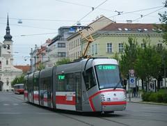 Brno tram No. 1939 (johnzebedee) Tags: tram transport publictransport vehicle brno czechrepublic johnzebedee skoda skoda13t