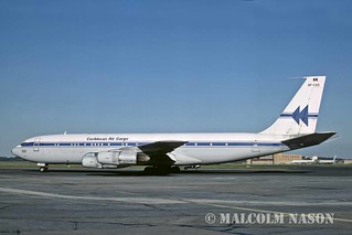 BOEING 707-351C 8P-CAD CARIBBEAN AIR CARGO