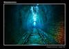 Bioluminescence (VJ Spectra) Tags: glowworm bioluminescence tunnel train sydney light glow luminous converginglines
