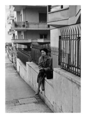 Mamma a Roma 1960 c. (18) (dindolina) Tags: photo fotografia blackandwhite bw biancoenero monochrome monocromo family famiglia history storia marialaviniabovelli roma rome italy italia 1960s 1960 sixties annisessanta vintage