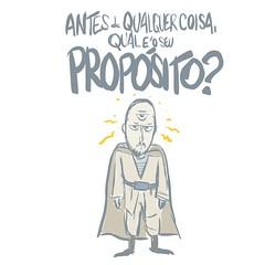 propósito (Saulo Cruz) Tags: propósito nous filosofia sentidodavida cartoon drawdesenho jedi danielmira