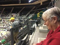 Ducks vs Huskies (LarrynJill) Tags: uo ducks eugene or college basketball arena matthewknight