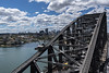 harbour bridge (Greg Rohan) Tags: houses building buildings skyline architecture bluespoint northsydney boats boat train people bridgeclimb clouds sky blue ocean sea water sydneyharbourbridge sydney bridge steel d750 2017 nikkor nikon city
