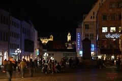 Nuremberg (Jurek.P) Tags: nuremberg norymberga germany niemcy bavaria night nightcity nightshot noc lights street streetscene oldtown city cityscape jurekp sonya77