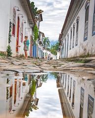 Paraty (ThibaultPoriel) Tags: paraty brésil voyage travel reflection amériquedusud southamerica tropical colonial historic place colors sky outdoor discover