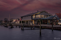 Brauhaus (Onascht) Tags: brauhaus d750 nikon sunset steg dslr water photoshop südfriesland varel shp outdoor hafen photography lights photoart art digitalart amateurphotographer lightroom kutter