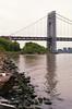 (NilsPix) Tags: film georgewashingtonbridge hudsonriver 35mmfilm agfavistaplus200 gwbridge nikonem