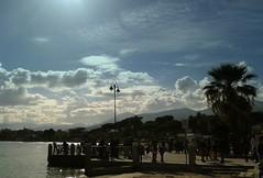 Non solo neve........Mondello (dona(bluesea)) Tags: mare sea cielo sky nuvole clouds mondello palermo sicilia sicily