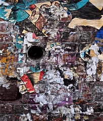 NYC Wall Abstract (Professor Bop) Tags: olympusem1 olympusm75mmf18 nyc graffiti wallart streetart street newyorkcity manhattan urban professorbop drjazz mosca