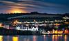 Moonrise in Kinsale, Ireland (tolaugh55) Tags: supermoonrisedec2017 moonrise bulmanpub kinsale ireland cocork night reflection sea ocean harbour dusk sky clouds