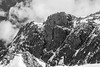 Pikes Peak (Chris Mahoney - AACStudio) Tags: black white pikes peak ansel adams colorado rocks snow landscape photography