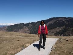 Rishi Parasar Lake near Mandi, Himachal- 348 (Soubhagya Laxmi) Tags: himachaltourismhptdc himalayanmountainhindureligion hindupilgrimagetemplehimalay mandihimachalpradesh mandisightseeing parasartemplelakemandi rishiparasarlakemandi rishiparashartempleandlake soubhagyalaxmimishra umakantmishra rishi parasar lake mandi himachal
