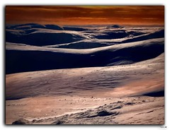 Just the two of us (tiggerpics2010) Tags: lochnagar scottishhighlands mountains snow winter sunset summit