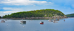 A quite day in Maine (Don Mosher Photography) Tags: travel maine harbor