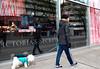 Lap-Dog Lingerie (Happily Drive) Tags: fuji xe2s color colour vancouver martin parr decisivemoment streetphoto street photography lingerie dog