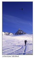 La Dent du géant, Vallée Blanche (dibona38) Tags: valléeblanche chamonix skiderandonnée montblanc helbronner aiguilledumidi poudreuse