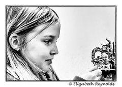 Day 26. (lizzieisdizzy) Tags: blackandwhite blackwhite black beautiful bright whiteandblack white whiteblack monochrome monotone monochromatic mono female frame framed happy birthday birthdaygirl looking intenselook fascinated fascination 3dcard howiemarsh head hair face gazing