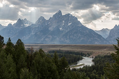 Rays (string_bass_dave) Tags: grandteton landscape sunrays river snakeriver grandtetonnationalpark outdoor clouds wy flickr wyoming moose unitedstates us