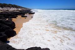 Coffee Rocks 01 (Paul Hollins) Tags: aus australia lakecathie newsouthwales nikond750 seascape midnorthcoast rocks rockformations