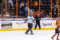 "Kansas City Mavericks vs. Cincinnati Cyclones, February 3, 2018, Silverstein Eye Centers Arena, Independence, Missouri.  Photo: © John Howe / Howe Creative Photography, all rights reserved 2018. • <a style=""font-size:0.8em;"" href=""http://www.flickr.com/photos/134016632@N02/26245174148/"" target=""_blank"">View on Flickr</a>"