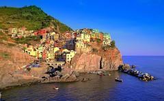 Cinque Terre Italy (marco.falaschiii) Tags: liguria borghi mare italy blu paesaggio parco naturale cinque terre patrimonio umanità unesco seescape see