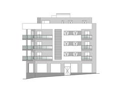 CALPENON_ALZADO (claracabrera.ARQUITECTA) Tags: arquitecto arquitectura planos edificio