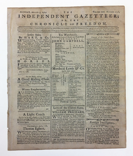 Newspaper, The Independent Gazetteer