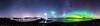 Atlantic road aurora panoramic view (Pamaxteam) Tags: atlanticroad aurora auroraborealis beautiful panorama panoramic kaim photography travel best bestofnorway norway norge atlanterhavsvegen stars nightsky starrynight bridge bestof cosmos colorfull milkyway moonlight