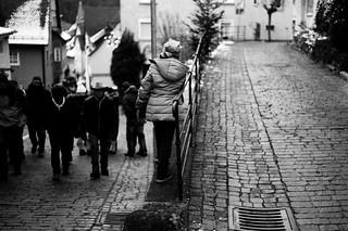 Black men coming (Leica M6)