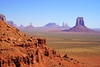 North Window Overlook, Monument Valley, Arizona (Andrey Sulitskiy) Tags: usa arizona monumentvalley