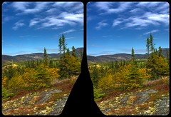 Indian summer weather in Ontario 3-D / CrossEye / Stereoscopy / HDR / Raw (Stereotron) Tags: north america canada province ontario transcanadahighway highway17 indiansummer autumn fall forest woods outback backcountry wilderness crosseye crosseyed crossview xview cross eye pair freeview sidebyside sbs kreuzblick 3d 3dphoto 3dstereo 3rddimension spatial stereo stereo3d stereophoto stereophotography stereoscopic stereoscopy stereotron threedimensional stereoview stereophotomaker stereophotograph 3dpicture 3dglasses 3dimage twin canon eos 550d yongnuo radio transmitter remote control synchron kitlens 1855mm tonemapping hdr hdri raw