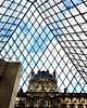 (camillep3) Tags: geometry art france museum musée ciel pyramide louvre paris