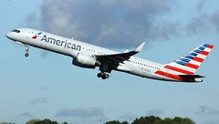 N194AA (AnDyMHoLdEn) Tags: americanairlines 757 egcc airport manchester manchesterairport 23r