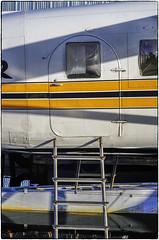 deHavilland Door & Ladder (NoJuan) Tags: door ladder sonya7ii sonya7withmanualfocuslens manualfocuslens nikkorlens mirrorless fotodiox fotodioxadapter